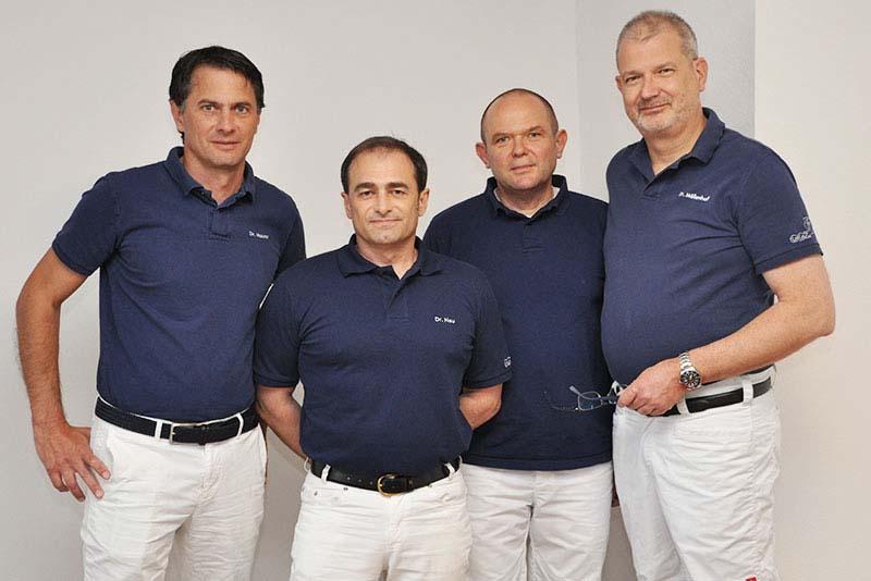 Ärzteteam Dr. Schneider, Dr. Maurer, Dr. Möllenhoff, Dr. Engel